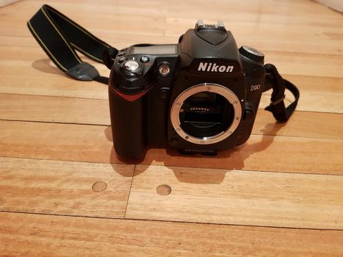nikon d90 (solo cuerpo)