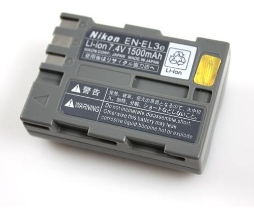 nikon en-el3e  bateria original para camara fotografica