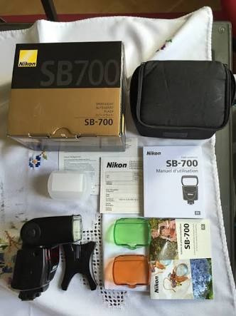 nikon flash speedlight sb-700 af en caja