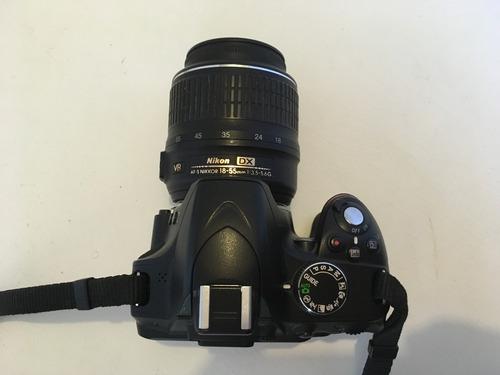 nikon lente cámara