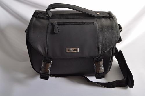 nikon maleta - bolsa para camara. semi nueva. envio gratis