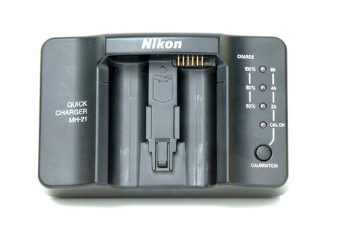 nikon mh-21 quick charger f/en-el4/en-el4a  - cargador