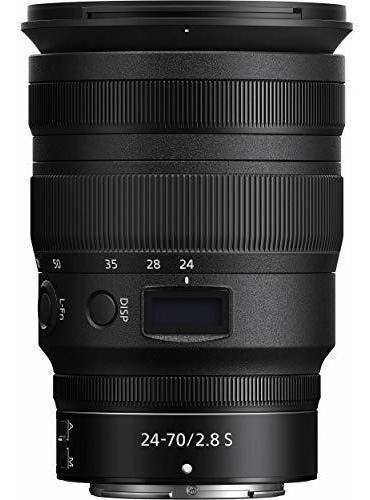 nikon nikkor 24-70 mm z f / 2,8 s lente haz esencial: inclu