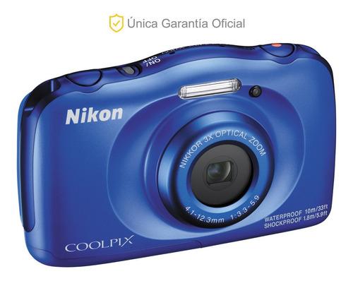 nikon oficial cámara coolpix w100 todo terreno