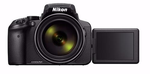 nikon p900 83x vr, 16.mp gps+wifi+32gb+bolsa, tripé
