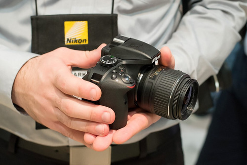 nikon profesional dslr d3400 24mp lente 18-55mm - inteldeals