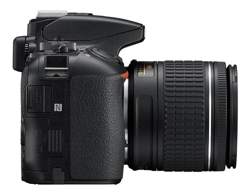 nikon profesional dslr d5600 24mp lente 18-55mm - inteldeals