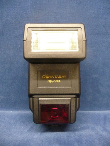 nikon- quantaray qb-6500a flash  con modulo