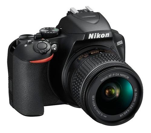nikon reflex d3500 kit 18-55 vr+ 70-300 af p + mochila+32 gb