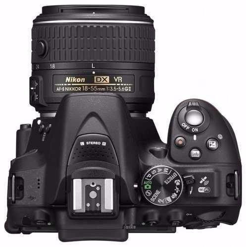 nikon reflex d5300 kit 18-55mm af-p+ envío+ 1 año garantía!!
