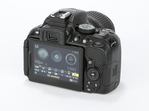 nikon reflex d5300 kit 18-55mm wi-fi fullhd sd 16gb + bolso!
