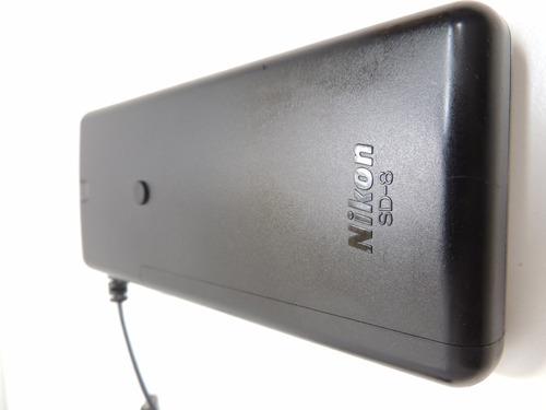 nikon sd-8 - bateria auxiliar para flash