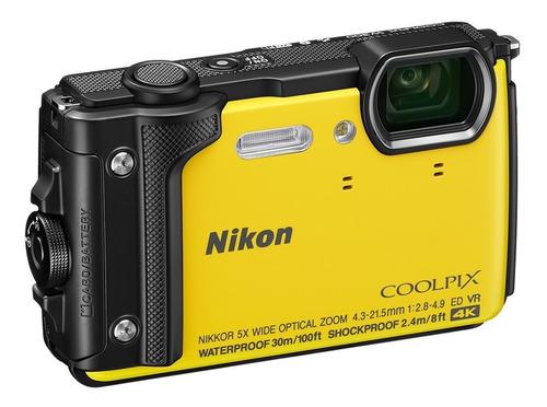 nikon w300 cámara digital submarina impermeable garantia 1 a