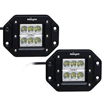 Nilight 2 pieces18w flood led work lights jeep light bar of nilight 2 pieces18w flood led work lights jeep light bar of 124000 en mercado libre aloadofball Images