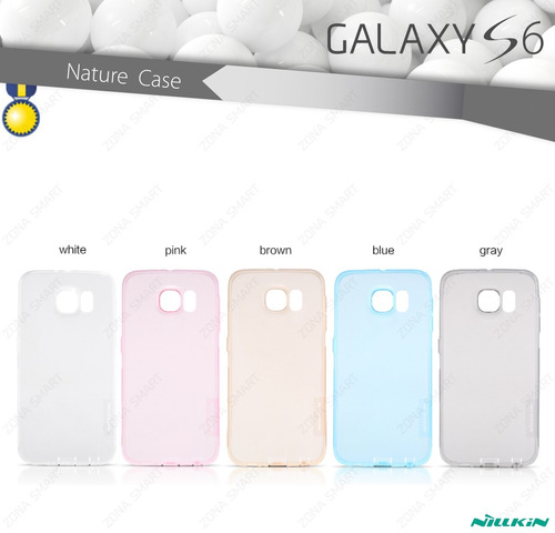 nillkin nature galaxy s6 - case transparente crystal samsung