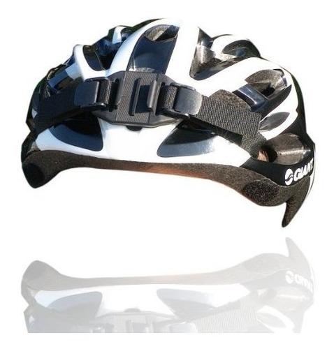 nilox casco correa (ventilado) para camara de accion tonta [
