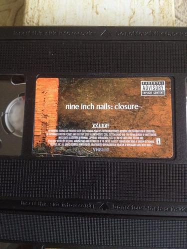 nin nine inch nails closure vhs perfecto original caja
