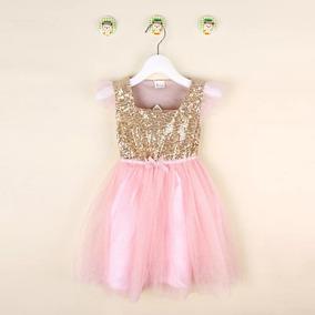 75906c7e7 Vestido Para Fiesta Primer Año De Tu Beba - Ropa y Calzado para Bebés en  Mercado Libre Uruguay