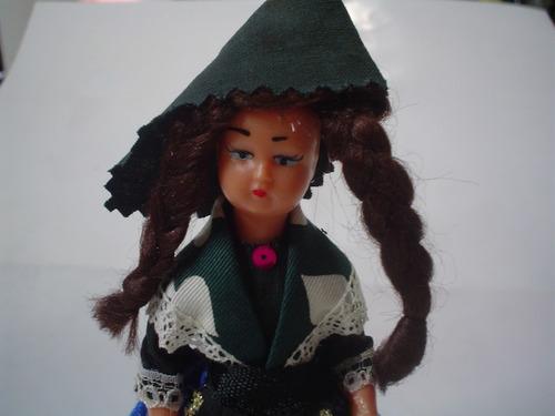 niña de andorra traje tipico muñeca muñeco vestido encaje