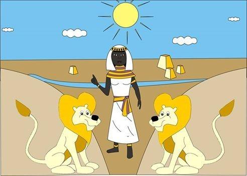 nina e a viagem pelo reino da núbia
