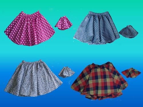 niña falda faldas