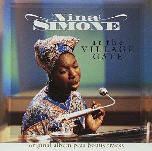 nina simone  at the village gate vinilo 180 gr nuevo import
