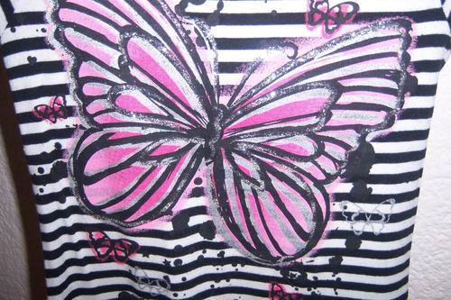 niña talla 5 vestido de mariposa y tutu de gasa y olanes