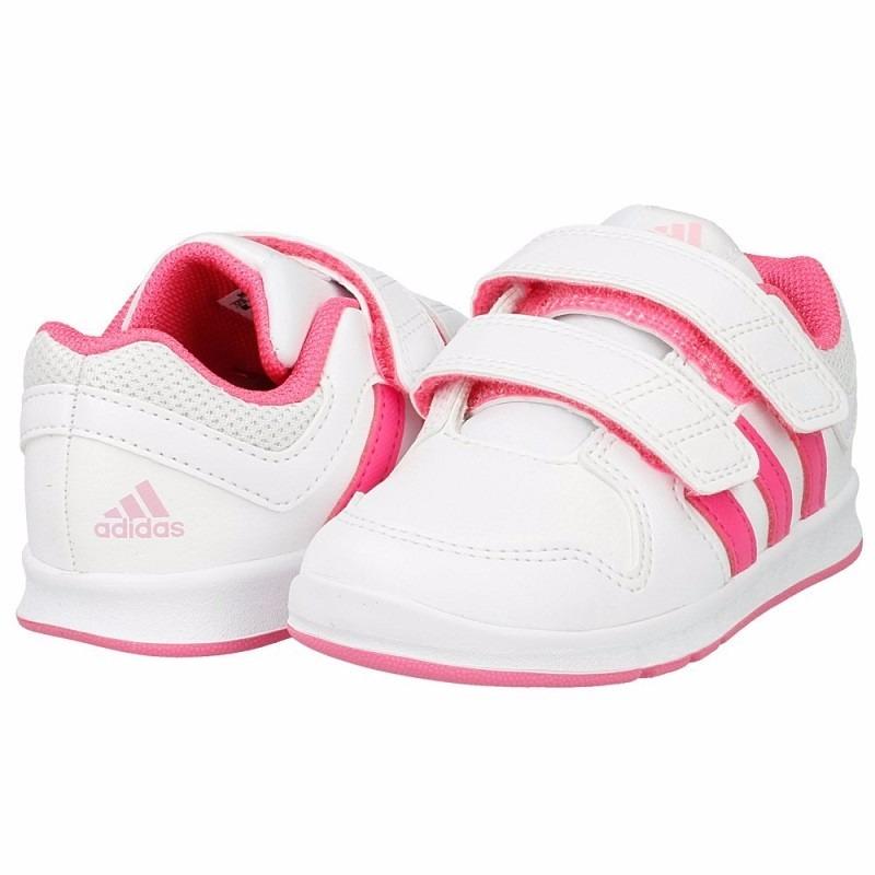 3a983bf2b ... best price niña tenis adidas neo lk trainer 6 cf blanco y rosa intenso.  cargando