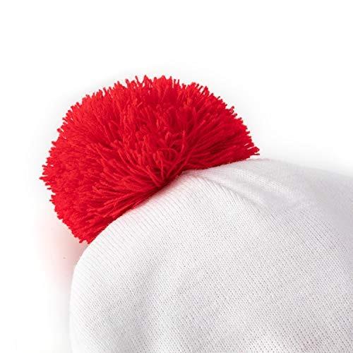 8c849a9d7bf Ninano Winter Beanie Hat Gorro De Punto De Tela Wheres Waldo ...