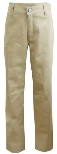 niñas caqui tramo derecho pierna pantalones - tamaño 16 ca