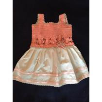 Vestidos De Niñas Tejidos Con Tela