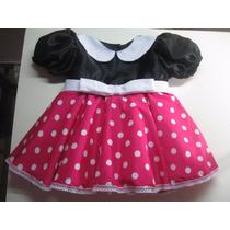 Vestido Disfraz De Minnie Mouse