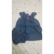Vestidos Carters De Niñas Talla 6 Meses En Excelente Estado