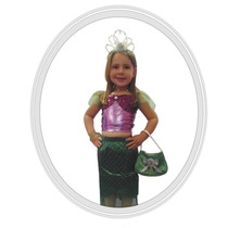 Disfraz Disney Princesa Ariel Sirenita 4 A 5 Años