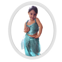 Disfraz De Niña Disney Princesa Jasmine 4 A 5 Años