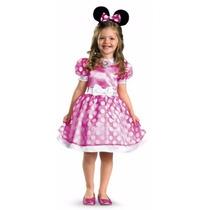 Disfraz Minnie Mouse Original Disney. Perfecto Importado
