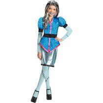 Disfraz Monster High Original Scaris Frankie Con Peluca