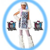 Disfraz Monster High Original Importado Abbey Bominable