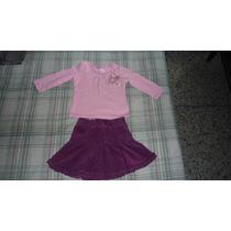 Conjunto De Niña De Falda Marca Childrens Place