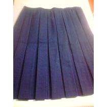 Falda Escolar Plisada (talla 18 Y 22)