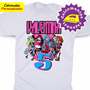 Monster High Calcomanias Personalizadas Para Franelas