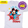 Mickey Mouse Calcomanias Personalizadas Para Franelas