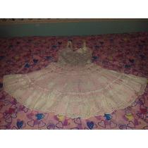 Vestido De Niña Tejido Talla 6