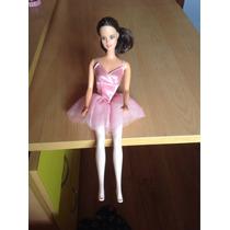 Barbie Bailarina Vestida De Color Rosado