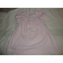 Vestido De Niña Casual Marca Epk Usado Talla12m Color Rosado