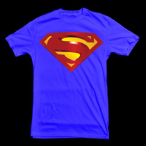 Franelas Superman ( 10-12-14-16 )