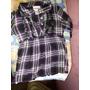 Camisa Bluson De Cuadro Little Lass Talla 4