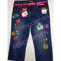 Jeans Fantasía Decorados Espectaculares Para Tu Niña Calidad