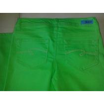 Pantalon Justice Talla 16r Color Verde 100%original