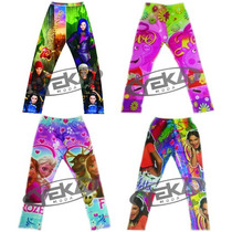Leggins Niña Frozen Violetta Peppa Sofia Monster High Minie